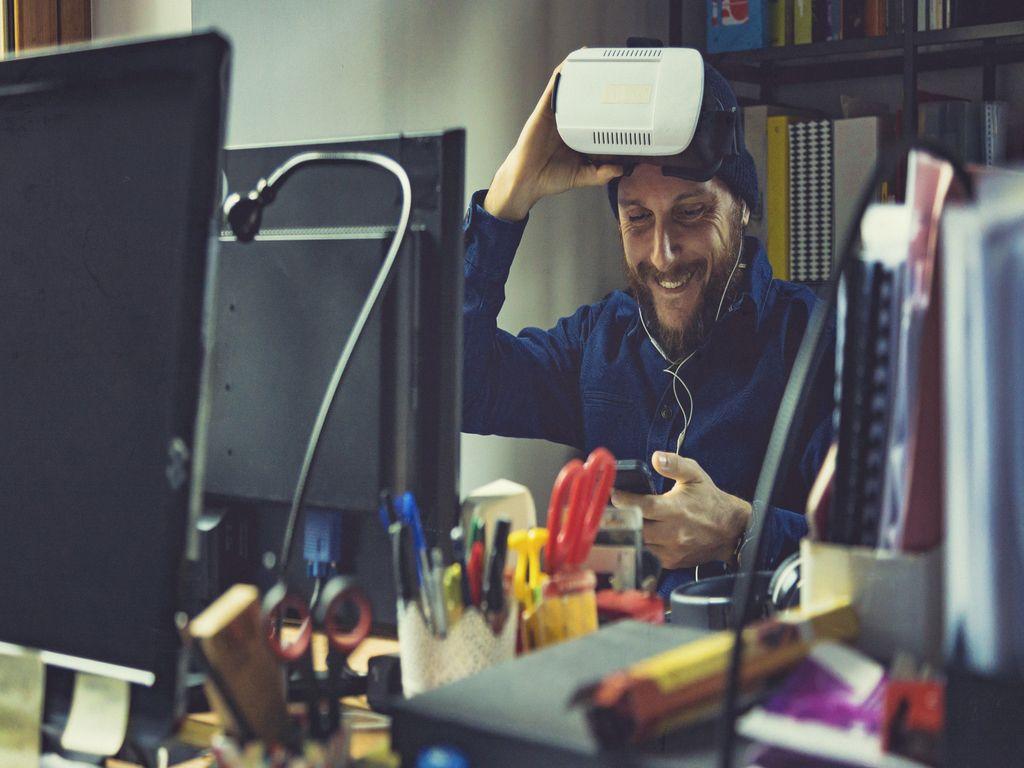 AR/VR Rzeczywistość rozszerzona i rzeczywistość wirtualna